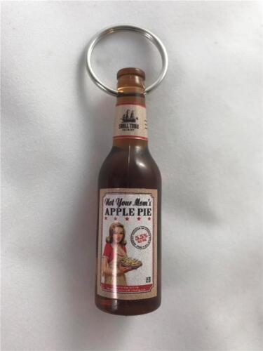 NEW Small Town Brewery Not Your Mom/'s Apple Pie Beer Bottle Opener Keychain