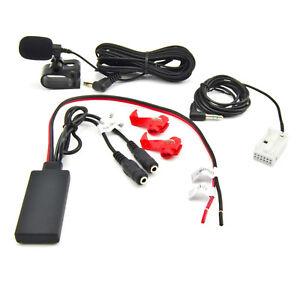 Bluetooth-Adapter-Aux-Peugeot-207-307-Citroen-C3-C4-Musik-Freisprecheinrichtung