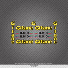 0697 Gitane R.M.O Bicycle Stickers - Decals - Transfers - Yellow/Black