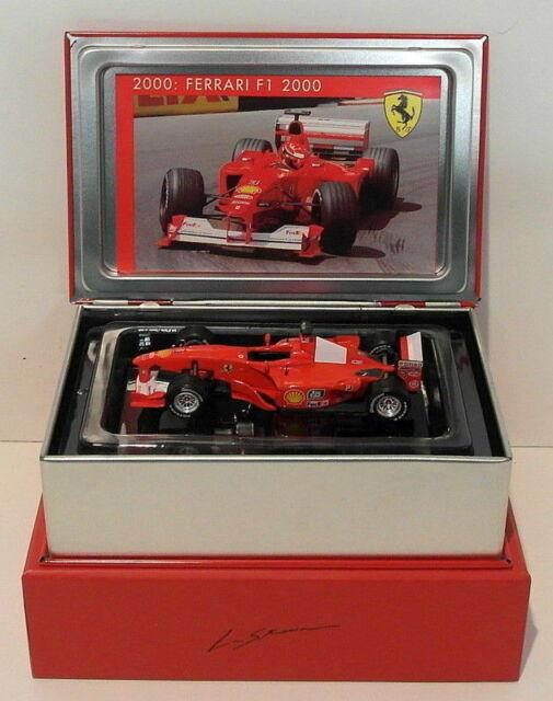 Hot Wheels F1 1/43 Scale Diecast SF02/00 - Ferrari F12000 #3 Winner USA GP 2000