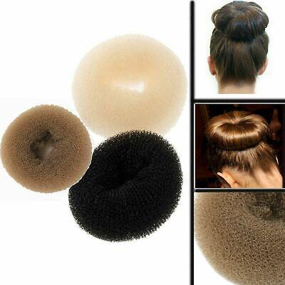 Pearl Doughnut Ring Hair Styling Bun Foam Sponge Ring Size S M L XL XXL