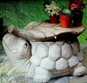 Turtle Stool Garden Table Resin Sturdy Garden Decor