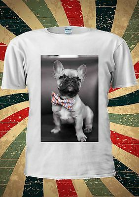 Dog With Bow-Tie Pug Life Tumblr Fashion T Shirt Men Women Unisex 1080