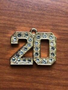 Graduation Tassels 2020.Details About Gold 2020 Bling Drop Date Charm For Graduation Tassel