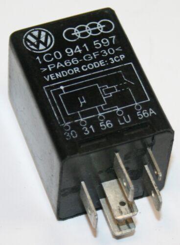 VW Beetle New Beetle Nº 434 centrale clignotante Dipper relais 12 V 1C0 941 597 1C0941597