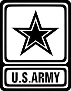 united states army logo us army custom vinyl decal sticker truck rh ebay com army reserve logo pictures us army logo pictures