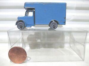 Lesney-Matchbox-Rare-1956-RW17A-BLUE-BEDFORD-Removals-Van-Used-Good-in-Pvc-Box