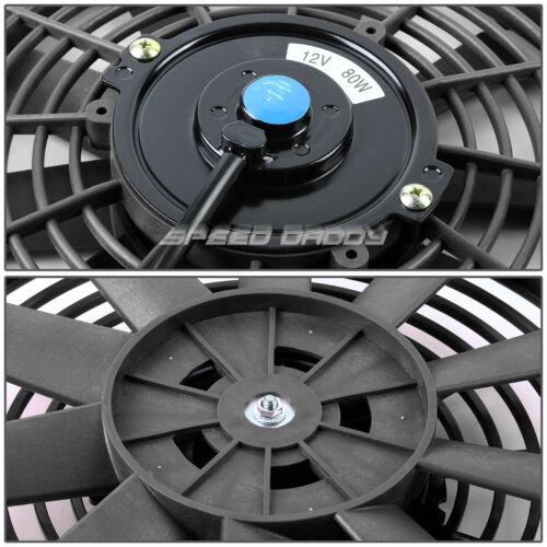 "3-ROW ALUMINUM RADIATOR+2X 10/""FAN BLACK FOR 61-66 CHEVY TRUCK C//K PONTIAC PICKUP"