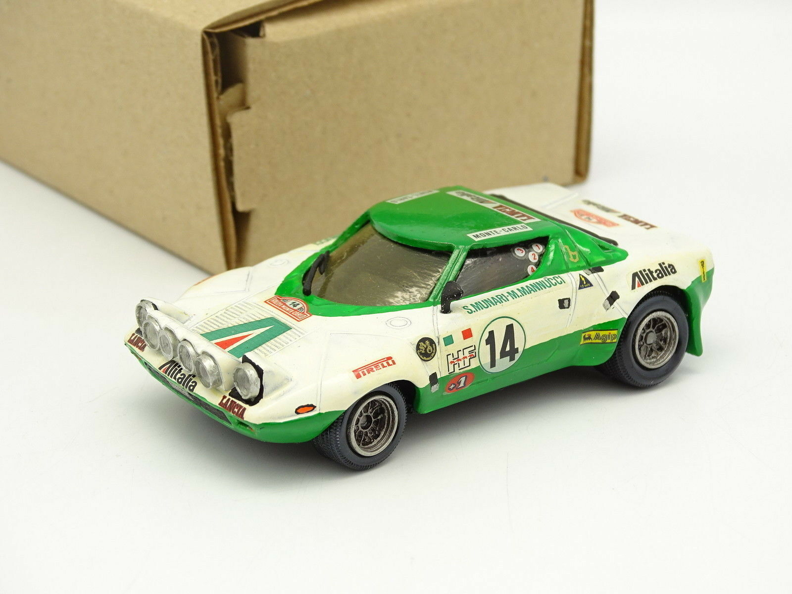 Contimodels Set Built 1 43 Lancia Stratos HF Rally  14 building Carlo 1975