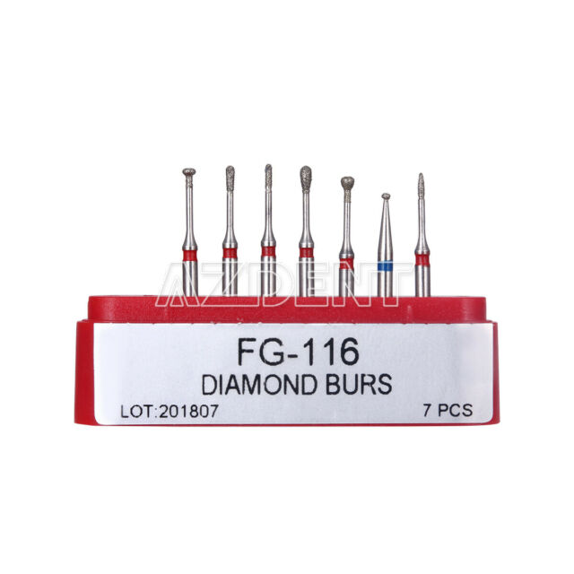 Dental Diamond Bur FG-116 Minimally Invasive Cavity Preparation Fine Kit