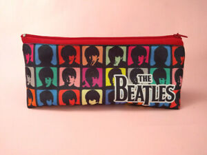 The-Beatles-Pencil-case-School-Zipper-Pouch-John-lennon-Paul-McCartney-Ringo