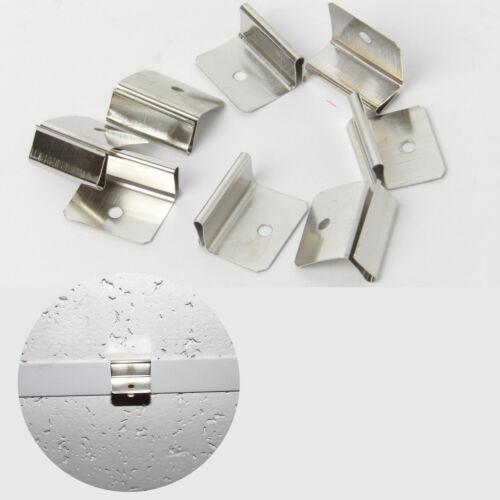 Confezione di 10 APPENDINI SOSPESO SOFFITTO in Metallo CLIP GANCI