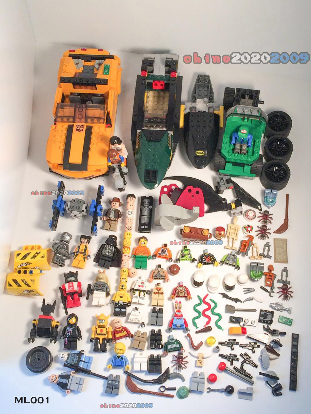 MIXED TOY LOT KRE-O Transformers   LEGO    MINIFIGURE ACCESSORY PARTS INCOMPLETE   bf539a