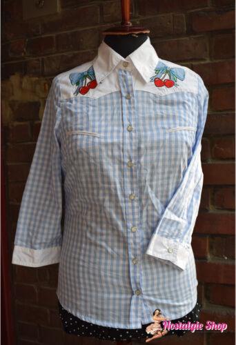 Abbigliamento e accessori IXS Camicia da Donna Mara Speed Service a maniche corte kurzärmlig VANIGLIA BLU