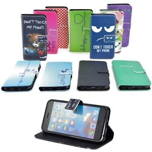 Etui-Portable-pour-Samsung-Galaxy-Housse-Etui-Rabattable-Etui-Motif-Portefeuille