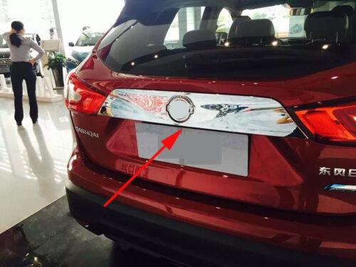 Rear Truck Cover Trim For Nissan Qashqai 2014-2018 Rogue Sport Chrome
