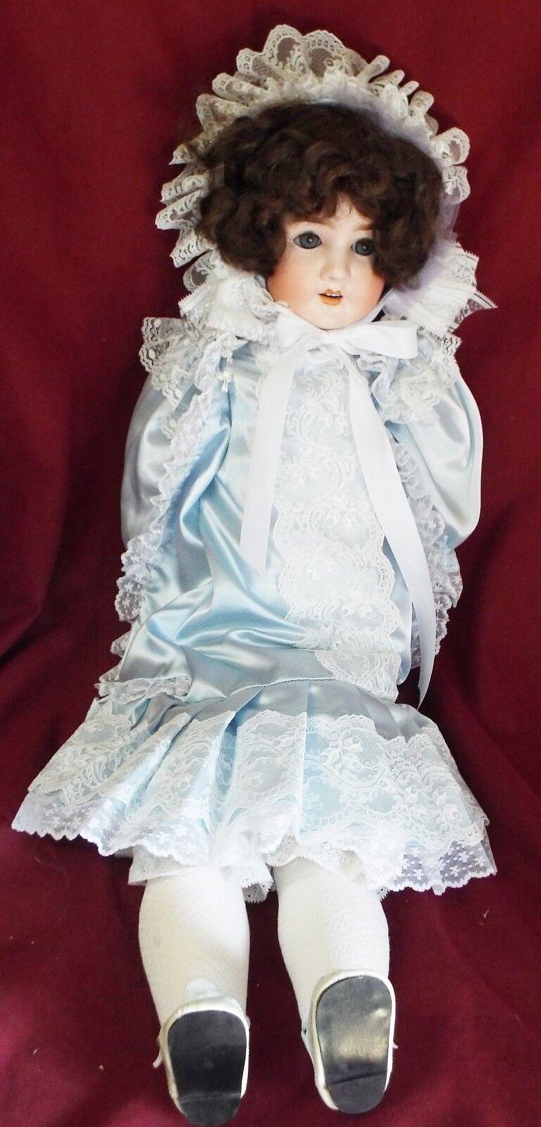 Antiguo Grande 30  Schoenau & Hoffmeister alemán cabeza de Biscuit muñeca de cuerpo Comp