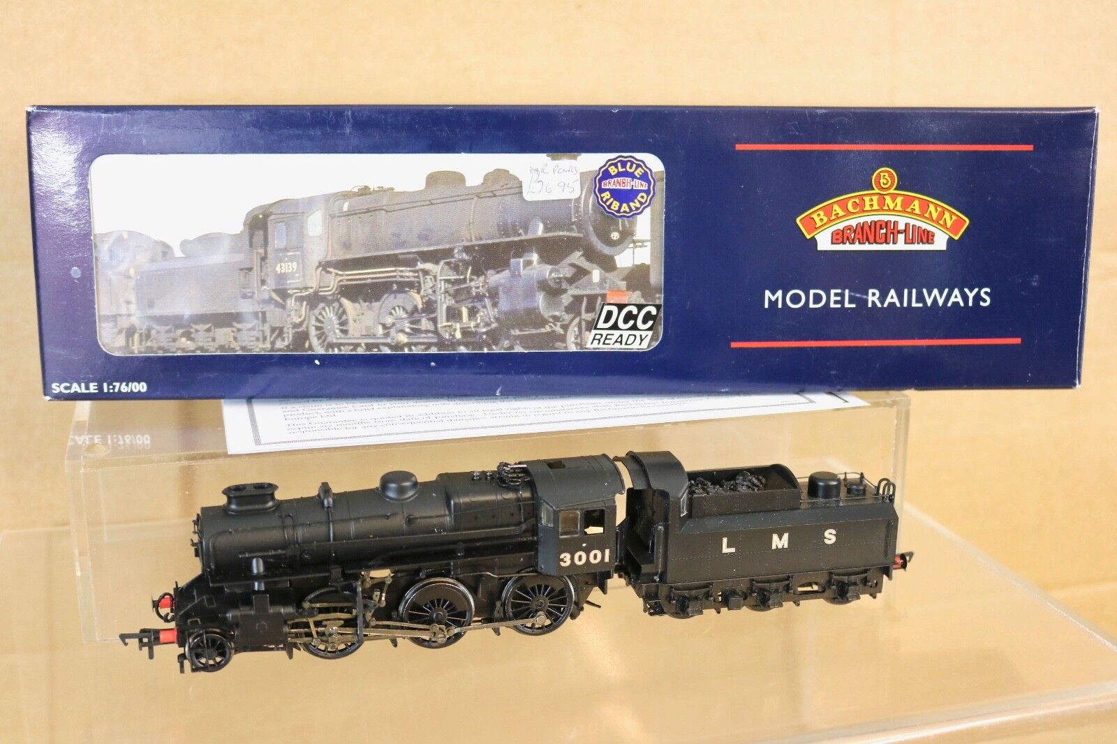BACHMANN 32-575 DCC READY LMS 2-6-0 CRAB CLASS LOCOMOTIVE 3001 BOXED nq