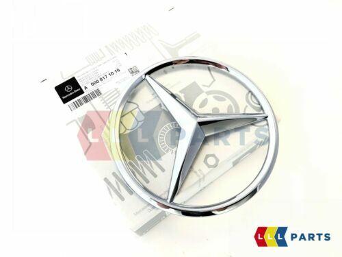 Neu Original Mercedes-Benz MB Ein B C R ML Sl SLK Frontgrill Chrom Star Emblem