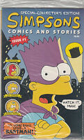 SIMPSONS COMICS AND STORIES 1...NM-...1993...Sealed In Polybag...HTF Bargain!