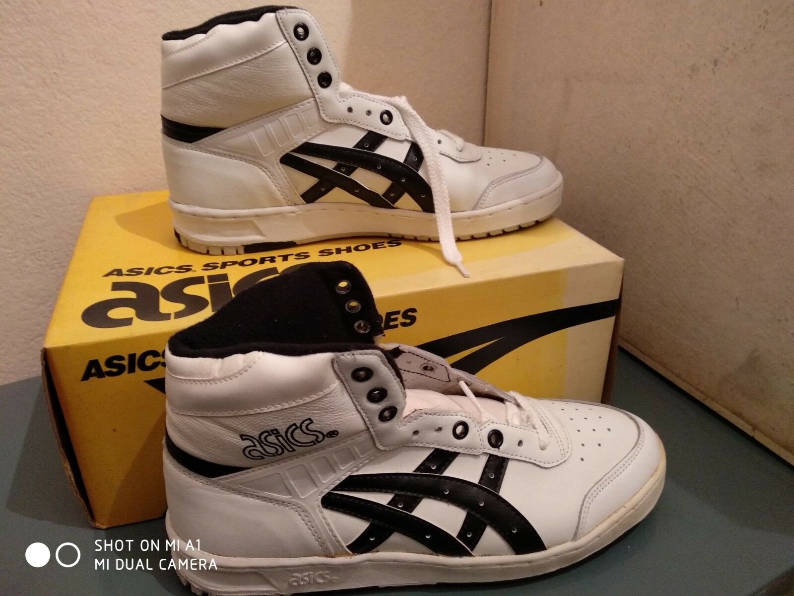 Vintage asics deacon hi scarpe good condition Dimensione Dimensione Dimensione us 8,5 89265f