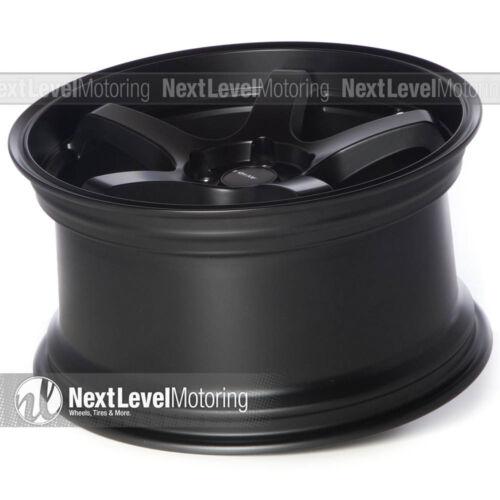 AVID.1 AV-28 18x9.5 Flat Black 5x114.3 35 Wheel GT Premium AV2818955H35BK