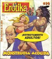 DELMONICOS EROTIKA MONSTRUOSA ACOGIDA mexican comic SEXY GIRLS SPICY #14