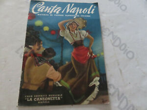 Canta Napoli Songbook Songs Neapolitan** - Testi And Chord 20 Pages