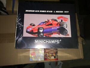 100770007 Minichamps 1 18 F1 Brabham Alfa Romeo # 7 Bt45b 1977 Navire Libre.   Monde.