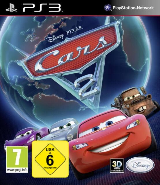 Ps3 Sony Playstation 3 Game Disney Cars 2 Standard En Ger Boxed