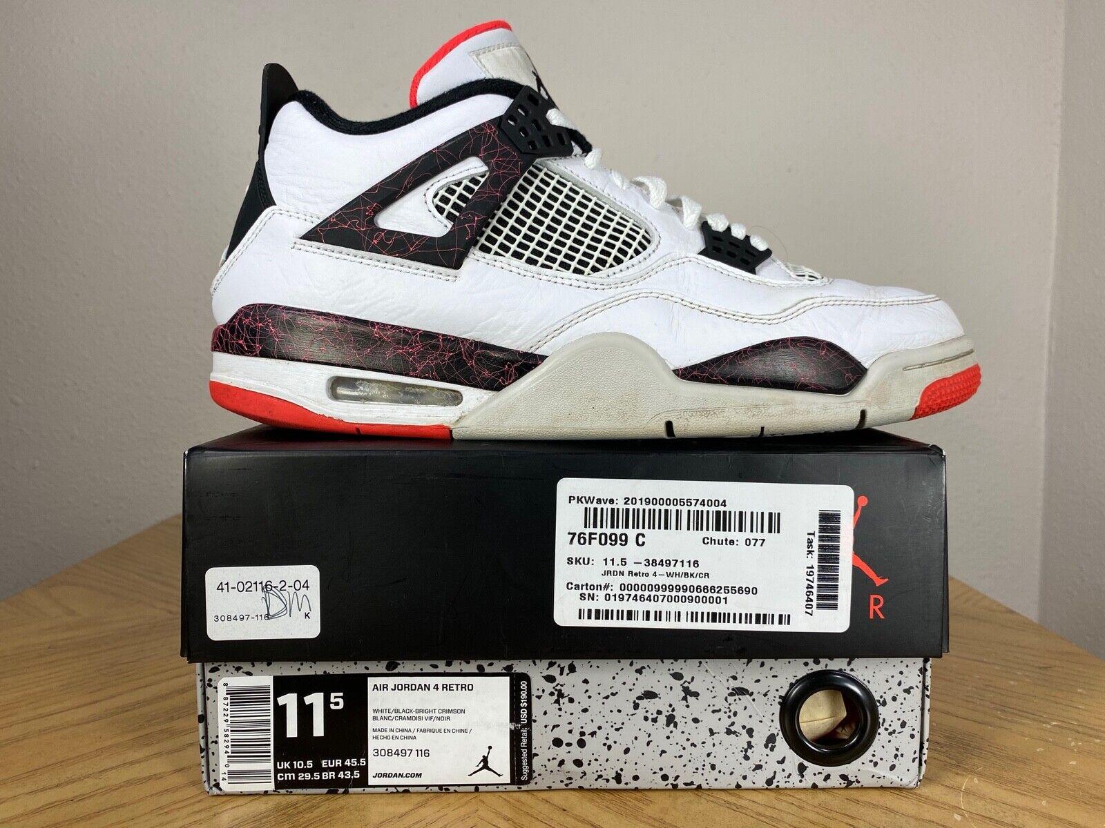 Men's Nike Air Jordan 4 IV Retro Flight