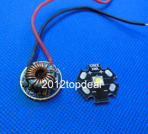 Dimmable Driver 5 Mode For Input Voltage DC 3.7V~15V Cree XML2 XM-L2 White Led