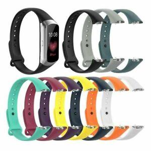 Sport-Silikon-Band-Strap-Uhrenarmband-Armband-fuer-Samsung-Galaxy-Fit-SM-R370