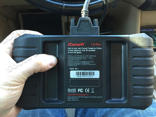 Icarsoft CR PLUS Interface de diagnostique Auto multimarque pro OBD OBD II