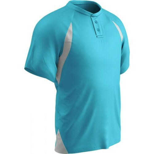 Champro Men/'s Two Button Placket Jersey