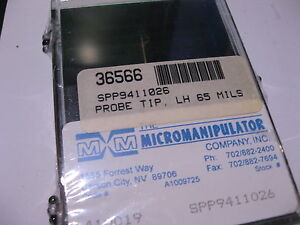 Qty-1-Micromanipulator-Co-Probe-Tip-SPP9411026-LH-65-Mils-NEW-Sealed