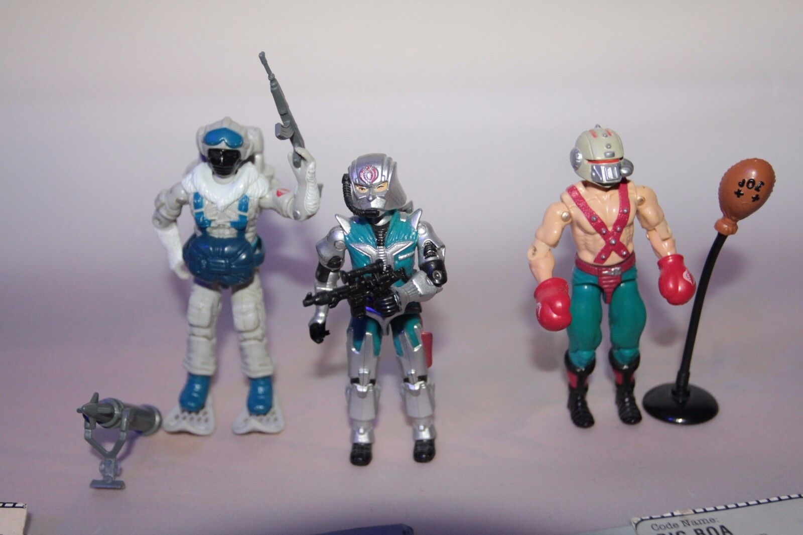 G.i joe Cobra action figures Lot 2