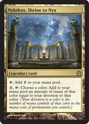 Nykthos, Shrine to Nyx x1 Magic the Gathering 1x Theros mtg card