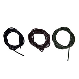 3x-1-meters-Silicone-Rig-Tubes-ID-1mm-Carp-Fishing-Terminal-Tackle-FR
