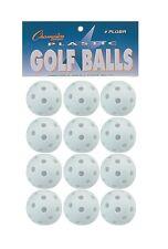 New Champion Dozen (12) Plastic Golf Balls Training Practice Baseball Hitting