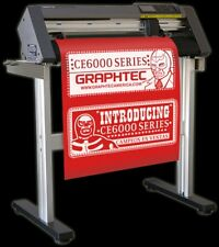"Graphtec CE6000-120 48"" Wide E-Class Contour Cutter Plotter w/ Stand"