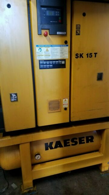 Kaeser Rotary Air Compressor SK 15 T New15hp (29678) on