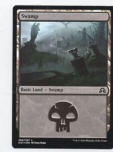 290 Swamp FOIL Time Spiral NM-M Basic Land MAGIC THE GATHERING CARD ABUGames