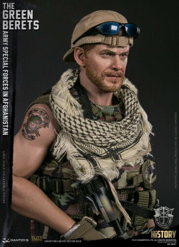 """DAM TOYS WF2018 """"THE GREEN BERETS"""" ARMY SPECIAL FORCES IN AFGHANISTAN 1//6 Figure"""