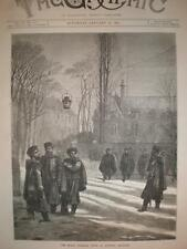 The Black Guerilla Corp Quimper France 1871 print