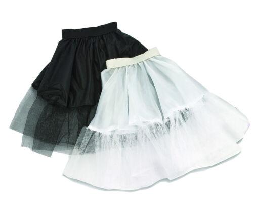 Petticoat F piatti ROCK ROCK /'N ROLL 50 anni lui O Nero Bianco Donna Costume Nuovo