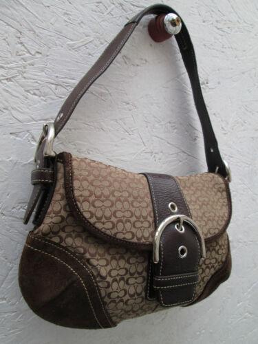 À Bag Coach Vintage Réf Main N° Sac Auth F05w 6818 Tbeg Beau pPnY8pqUw
