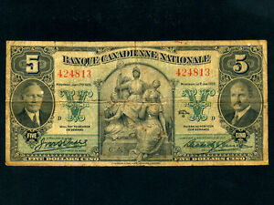 Canada-P-S716-5-Dollars-1935-Banque-Canadienne-Nationale