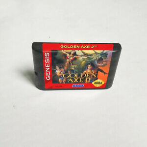Golden Axe 2 (1991) 16 Bit Only Game Card Sega Genesis Mega Drive System