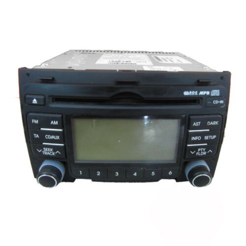 HYUNDAI i30 RADIO CD 961602L200    96160-2L200   Steuergerät 36 Monate Garantie